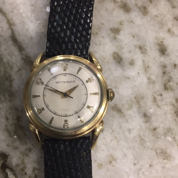 Wittnauer Watch Value >> Wittnauer Gold Watches Working Needs A Band Auto